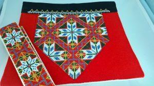Mønster nr 21XL, nordhordaland, med belte 90 cm