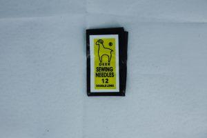 perlenåler nr 12, 40 mm