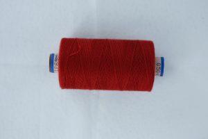 rød saba perletråd 500 meter