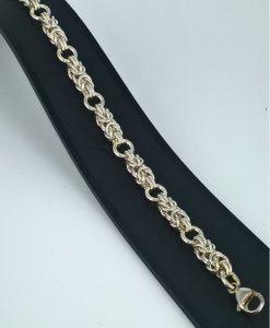 kongekjede armband med mellomøsken