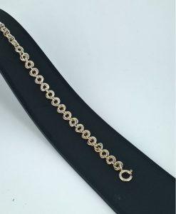 ullrose sølvarmbånd