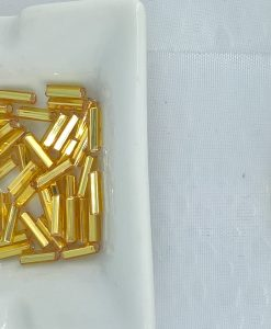 6 mm fasetterte gullstaver