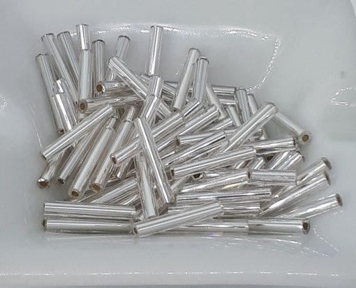 12mm staver sølv E-21