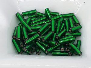 6 mm staver NP mørk grønn metallisk