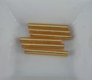 20 mm staver i gull