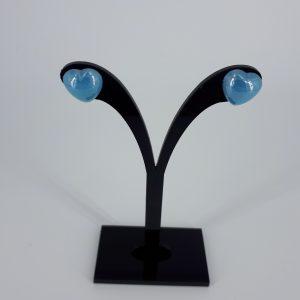 Lyseblå porselenshjerter