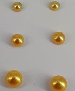 3-pakning nikkelfri ørepynt, lys over