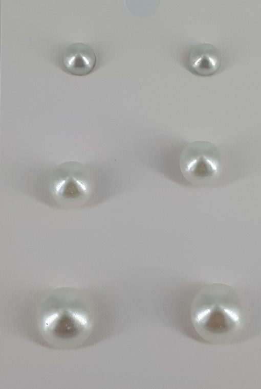 Eggedkallfarget 3- pac ørepynt