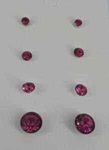 4 par rosa bling