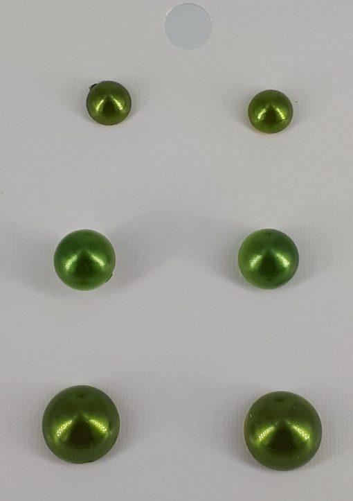 3-pakning nikkelfrie ørepynt i grunntonen