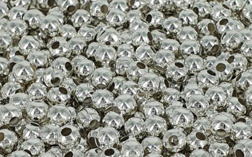 3mm forsølvede jernkuler