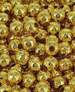 5 mm forgyllede jernkuler