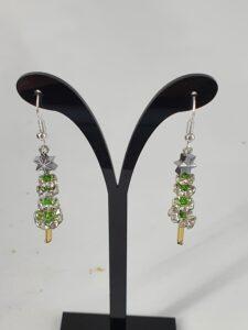 Juletrær med sølvstjerne